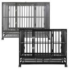 Dog Crate With Bathroom by Top Indestructible Dog Crate 5 Chewproof Tough Dog Crates