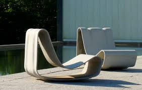 Pool Patio Furniture by Unique Designed Lazy Chair Created Using Modern Outdoor Furniture