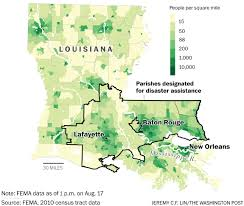 Louisiana State Map by Louisiana Flooding Is The Country U0027s U0027worst Natural Disaster U0027 Since
