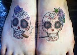 31 best cute skull tattoos for couples images on pinterest skull