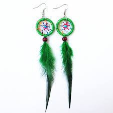 feather earrings online shop indian feather catcher earring feather earrings