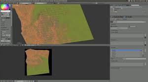 tutorial blender terrain blender texturing game terrain tutorial clone brush method on vimeo