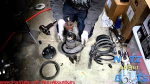 1992 toyota camry problems 1992 1996 toyota camry front shock assembly remove and install
