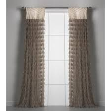 burlap curtains you u0027ll love wayfair