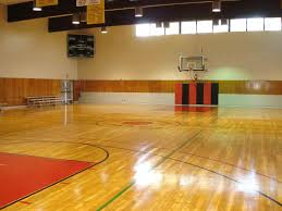 painted plywood floors basketball court creating the free throw
