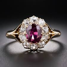 natural ruby rings images Ruby diamond ring in 14k yellow gold from gemone diamonds online jpg