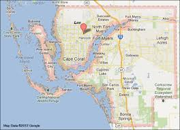 Florida Map Of Cities And Counties Lee County Florida Map