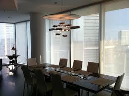 Modern Dining Room Chandelier Chandelier Installation By Quatro Team Modern Dining Room