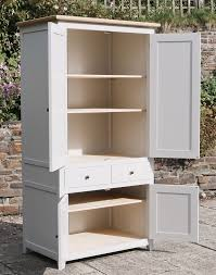 larder cupboard hardwood frame hand painted with farrow and