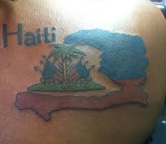Haitian Flag Meaning Tattoo Of The Island Of Haiti Marj U0027s Fav Tattoos Pinterest