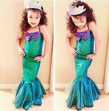 Ariel Mermaid Halloween Costume Ariel Fancy Dress Ebay