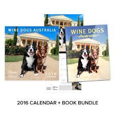 australian shepherd 2016 calendar wine dogs australia bundle calendar book lyndoch hill