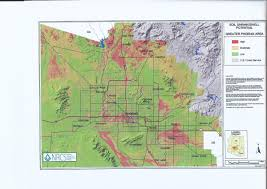 Map Of Tempe Arizona by About Expansive Soils