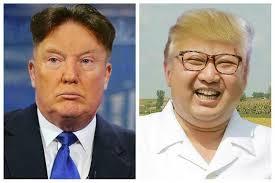 Donald Trump Meme - donald trump kim jong un hairswap meme lolworthy