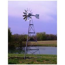 outdoor water solutions 20 u0027 ornamental windmill 282213
