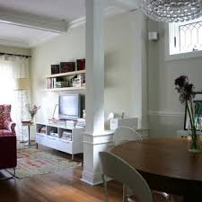 Wooden Table Ls For Living Room Dining Room Columns Design Pictures Remodel Decor And Ideas