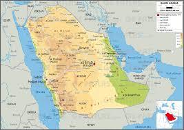 arab map geoatlas countries saudi arabia map city illustrator fully