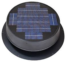 natural light energy systems ultra low profile 24 watt natural light solar attic fan energy