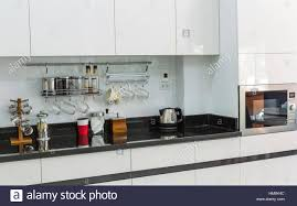 Kitchen Cabinets In Stock Kitchen Cabinets With Coffee Corner In Modern Home Living Room