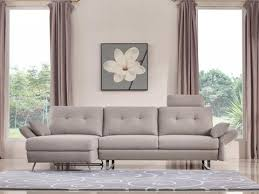 Gray Fabric Sectional Sofa Modern Sectional Sofas At Contemporary Furniture Warehouse