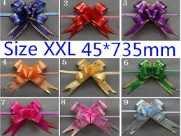 pull bows wholesale size 45 735mm pull bows ribbons flowers gift wrapping christmas