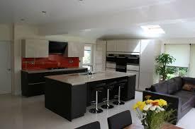 download open plan kitchen lounge home intercine