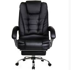 apex executive reclining office computer chair with foot rest