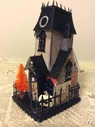 isa creative musings more vintage inspired putz halloween houses