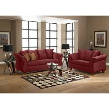 interior design and red sofa cubtab modern minimalist with