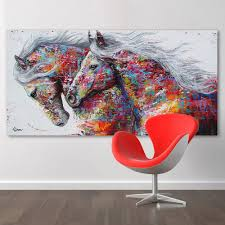 home decor canvas hdartisan animal wall art pictures for living room home decor