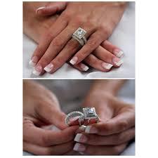 emerald cut wedding set elisabetta s grand emerald cut synthetic diamond wedding set