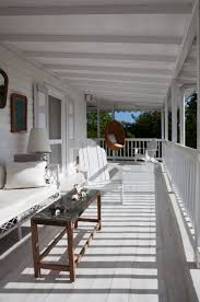 Back Porches by All White Everything White Veranda Outdoor Home