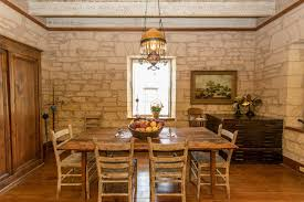 Hill Country Dining Room by Waterfront Cottage Texas Hill Country