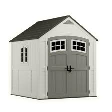 black friday sales wood home depot suncast cascade 7 ft 3 in x 7 ft 4 5 in resin storage shed