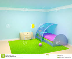 baby room cradle stock illustration image 52898542