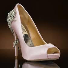 blush wedding shoes royal by badgley mischka wedding shoes at my glass slipper