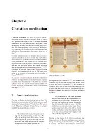 christian mysticism christian meditation and pauline christianity sot