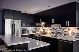 black and white kitchen cabinets designs modern kitchen remodel ideas creative interiors designs