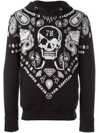 philipp plein men clothing hoodies sale online 100 authentic