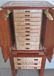 jewelry box necklace holder images Necklace holder beautiful handmade armoire jewelry box of wood jpg