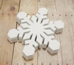 snowflake cutouts large cardstock snowflakes winter