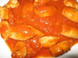 cuisiner les encornets recette de blancs d encornets en sauce la recette facile