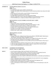 business analyst resume exles hris business analyst resume sles velvet