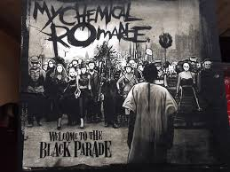 parade merchandise my chemical t shirt welcome to the black parade
