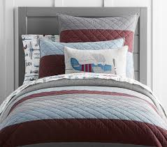 block stripe quilt pottery barn kids