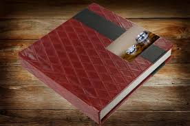 personalized leather photo album wedding album studio custom wedding albums for brides