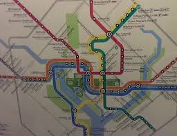 Metro In Dc Map by Metro Park View D C