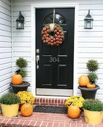 fall door decorations lovely charming apartment front door decor 18 fall door