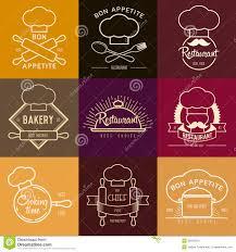 logo inspiration for restaurant or cafe vector illustration
