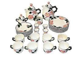 villeroy boch tea set service for 8 mettlach omero